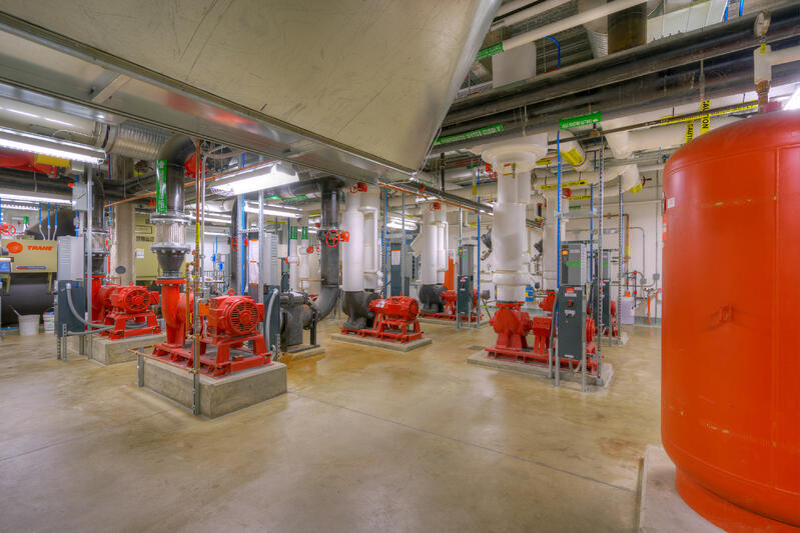 University of Michigan ASCP Mechanical Room