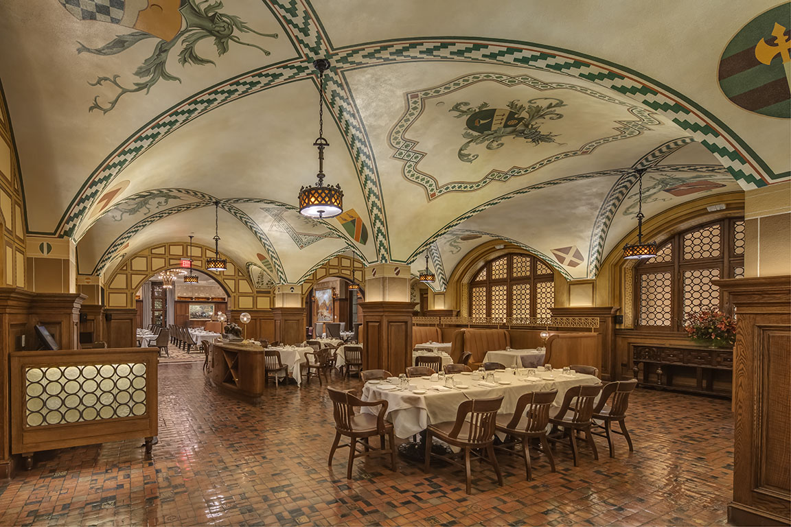 Illuminart Project -The Gallery | The Fresco at Detroit Athletic Club, Wins 2020 AIA Michigan Honor Award- Interior