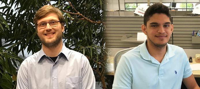 PBA Hires Former PBA Co-Ops, Electrical Engineers, Sarmad Shaman and Nicholas Polega