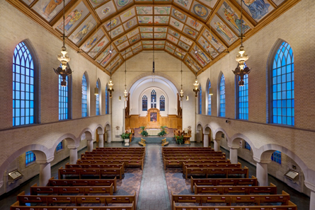 Illuminart Integrates LEDs Into Trinity Lutheran Church